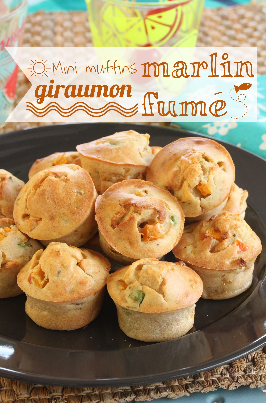muffin marlin fumé giraumon