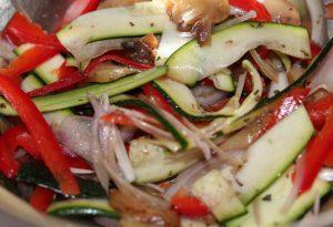 Pizza légumes kiri