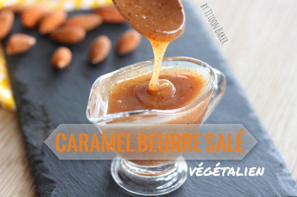 recette du caramel beurre salé végétalien Martinique