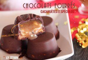 recette des chocolat fourrés cacahuète antillais