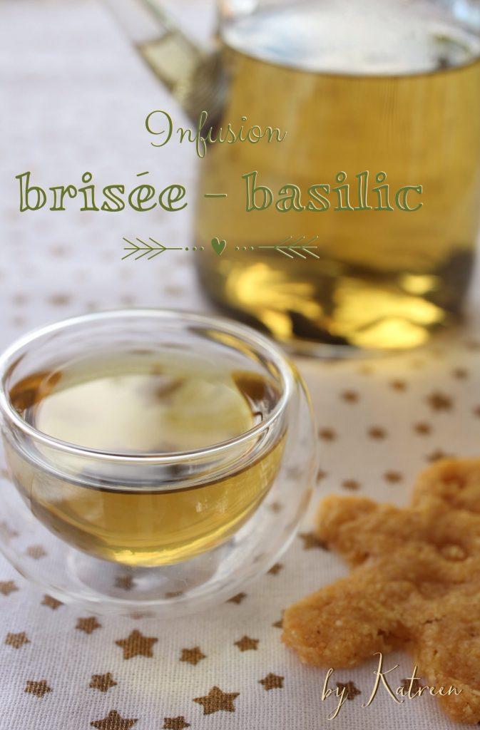 infusion brisée-basilic