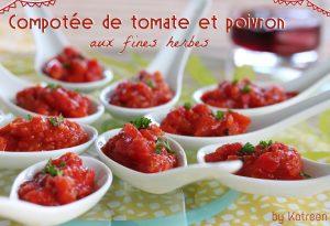 compotée tomate-poivron