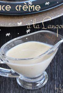 sauce crème langouste