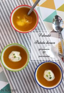 velouté patate douce giraumon Manger local