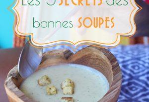 secrets des bonnes soupes