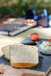 pain fromage et aromates