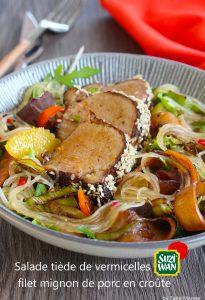 salade vermicelles Suzy Wan
