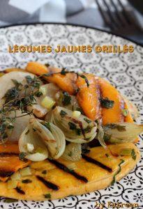 légumes grillés au thym cuisson des légumes
