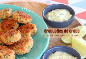 croquettes de crabe