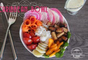 Caribbean bowl antillais