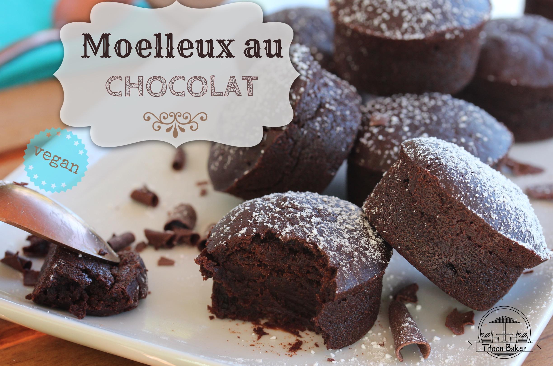 moelleux au chocolat vegan antillais