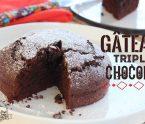 gateau triple chocolat créole gâteau léger et moelleux