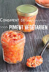pâte de piment végétarien antillais