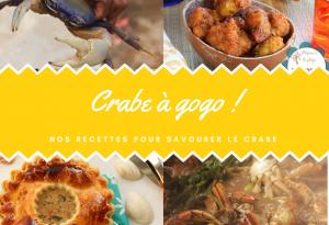 crabe à gogo recettes antillaises