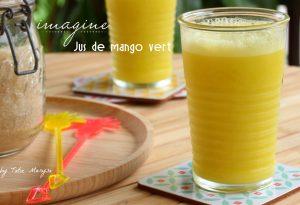 jus de mango vert antillais