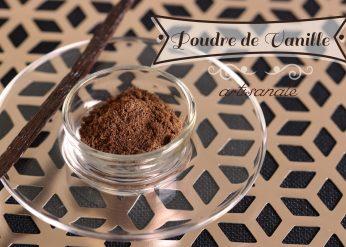 poudre de vanille artisanale