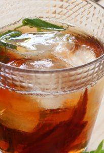 boisson rafraichissante menthe cannelle