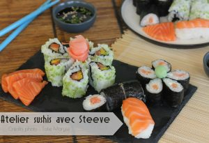 Atelier Sushi - Atelier Tatie Maryse