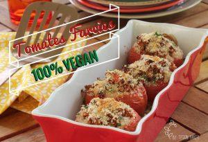 Tomates farcies vegan créoles