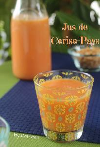 jus de cerise-pays Martinique Guadeloupe
