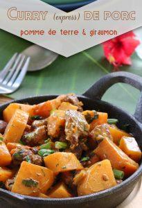 curry de porc express