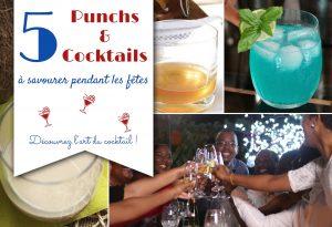 5 punchs et cocktails pour les fêtes