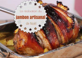 réalisation jambon artisanal