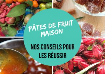 Conseils pour réussir les pâtes de fruit