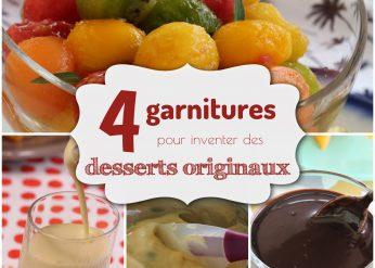 desserts gourmands originaux