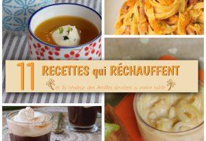 11 recettes qui réchauffent