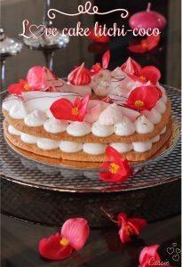 Love cake coco litchi