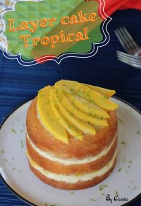 Layer cake tropical