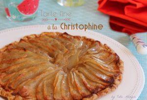 tarte fine à la christophine légumes antillais