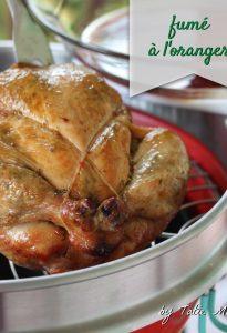 poulet au beurre créole fumé à l'oranger