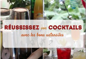 ustensiles pour cocktail