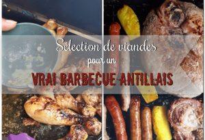 viandes pour Barbecue Antillais