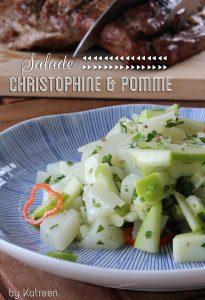 salade christophine pomme antillaise cuisson des légumes