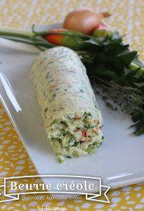 beurre aux herbes créole antillais
