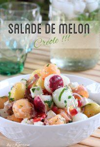 salade de melon créole antillaise