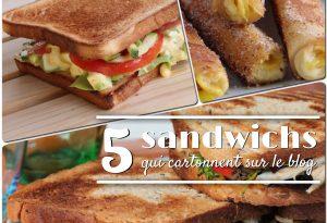 sandwichs qui cartonnent