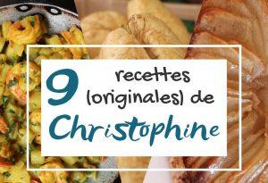 recettes de christophine