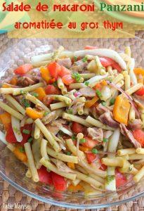 Salade de pâtes créole
