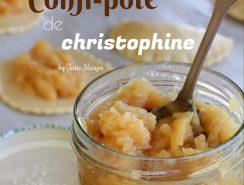 confiture de christophine aux agrumes