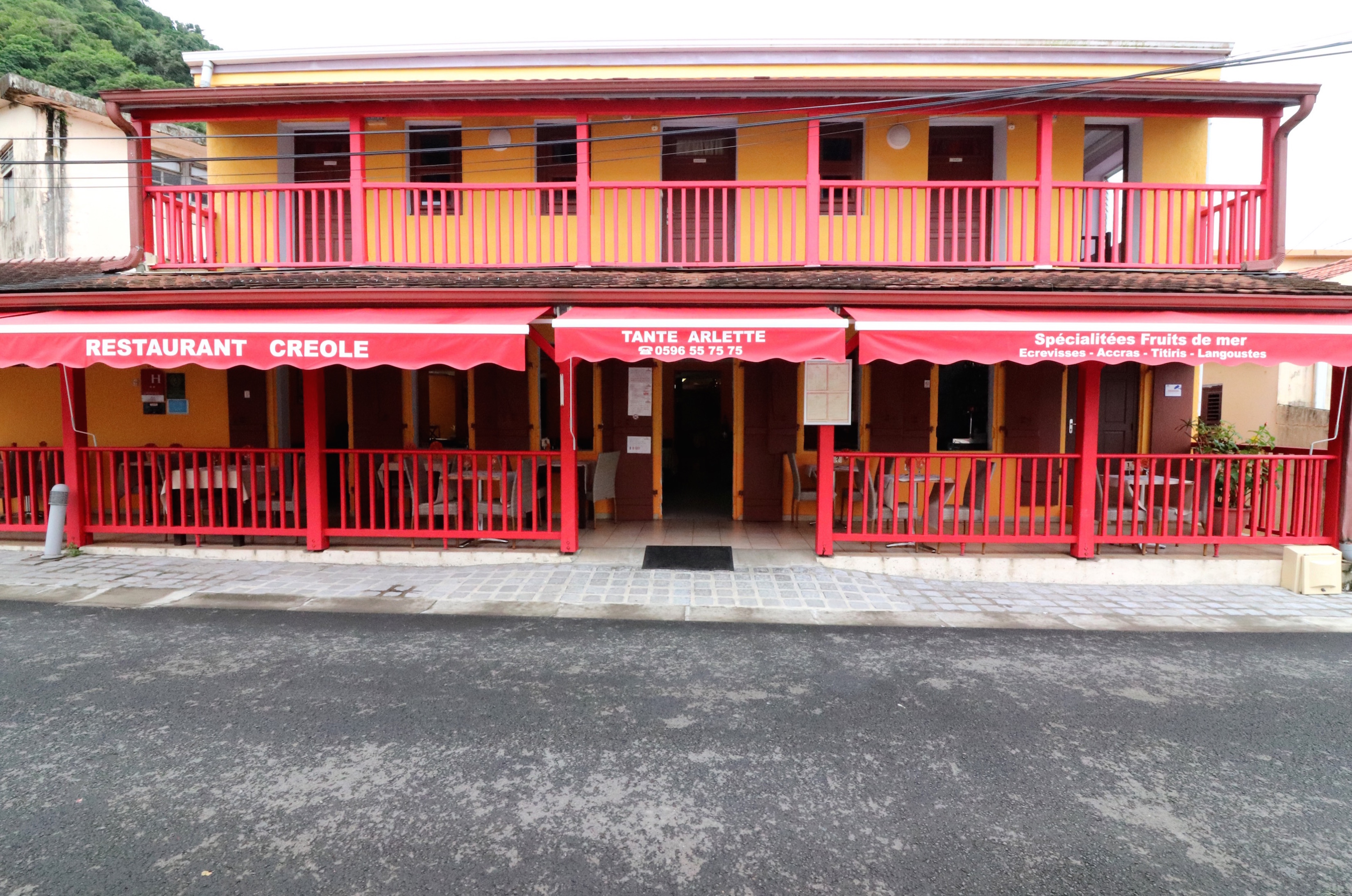 Tante Arlette restaurant Martinique