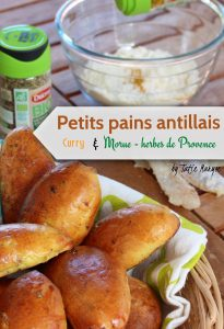 Petits pains aromatisés morue curryDUCROS