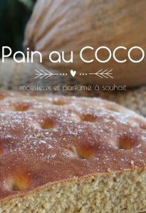 Pain au coco antillais