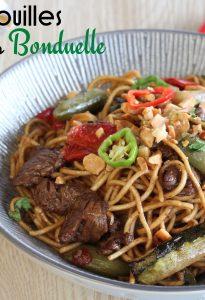 wok légumes boeuf
