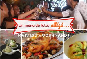 menu de fêtes plus léger antillais mais gourmand