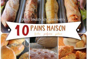 10 pains maison antillais