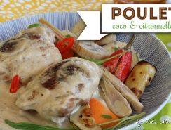 poulet coco-citronnelle MADIVIAL
